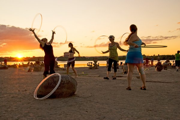 ACROYOGA & HOOPS 28 JULY SUNSET
