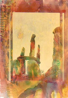 balanced rocks 1987,commercial gum print
