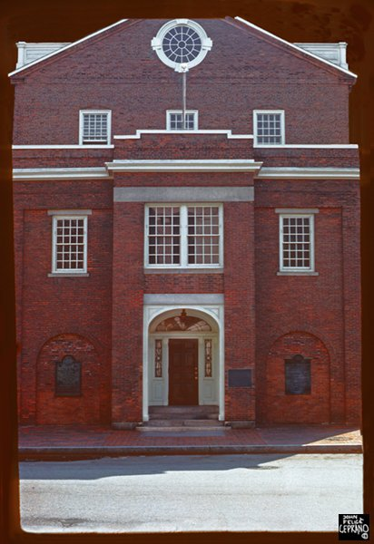 Joseph Brown House, 1774, Providence